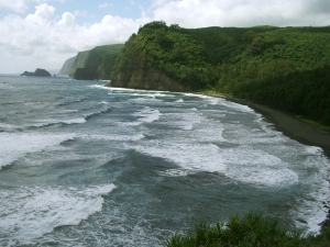 Pololu Valley, Hamakua Coast: Photo by Donnie MacGowan