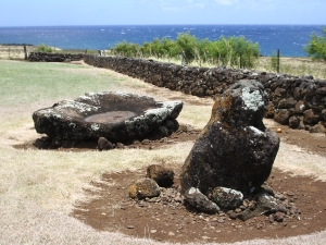 Mo'okini Heiau, Kohala Hawaii: Photo by Donnie MacGowan