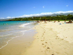 Hapuna Beach, Kohala Hawaii: Photo by Donnie MacGowan