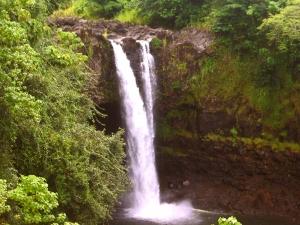 Rainbow Falls, Hilo Hawaii: Photo by Donald MacGowan