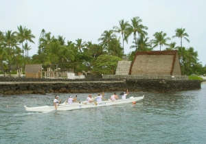 Ahu'ena Heiau, Kailua Kona Hawaii: Photo by Donnie MacGowan