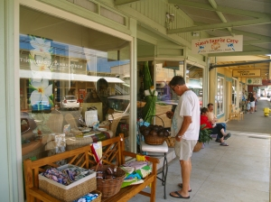Honoka'a Town is Lined With Intersting and Wonderful Shops and Restaurants--Including Some of Hawaii's Best Antique Stores: Photo by Donald MacGowan