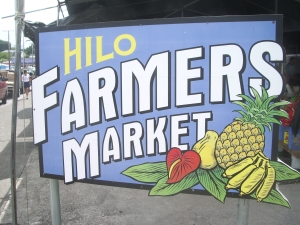Hilo Farmer's Market: Photo by Donnie MacGowan