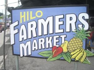 Hilo Farmer's Market: Photo by Donnie MacGowan