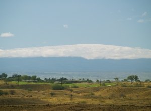 Mauna Loa From Kohola: Photo by Donnie MacGowan