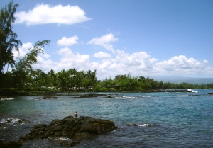 Richardson Beach Park, Hilo Hawaii: Photo by Donnie MacGowan