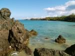Waialea Beach From The South: Photo by Donald MacGowan