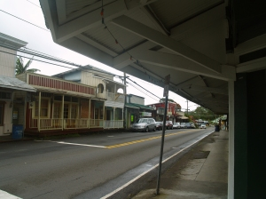 Pahoa is the Commercial and Cultural Center of Puna: Photo by Donald B. MacGowan