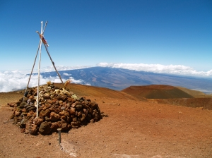 Mauna Kea Summit Temple: Photo by Donald B. MacGowan