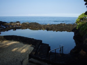 Public Queensbath Tidepool: Photo by Donald B. MacGowan