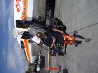 Bradford MacGowan Lands At Kona International Airport at Keahole: Photo by Donnie MacGowan