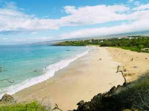 Hapuna Beach, One Of Hawaii's Most Popular, Is Frequently Quite Empty: Photo by Donnie MacGowan