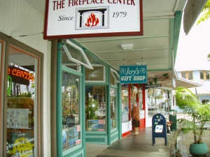 Hilo's Charming Bayfront Shops: Photo by Donald MacGowan