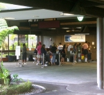 Although Beautiful, Open, and Welcoming, Hilo International Airport Can Be Frustrating With Long Lines and Longer Waiting Times...In Fact, Hilo is not Even an Interstate Airport, Let Alone International--Flights In and Out Only Connect To Other Islands In Hawaii: Photo By Donnie MacGowan