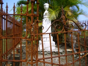 Graveyard at Lanakila Church, Kainaliu: Photo by Donald B. MacGowan