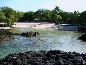 Looking Back Toward The Beach at Pawai Bay: Photo by Donnie MacGowan
