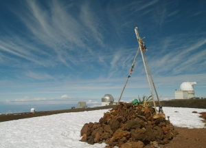 Pu'u Weiku Cinder Cone at the Summit of Mauna Kea: Photo by Donnie MacGowan