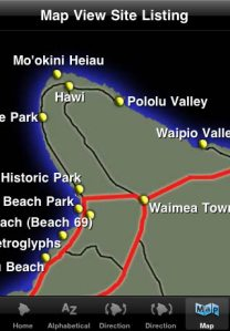 Tour Guide's interactive, touch screen map puts the Island of Hawaii at your fingertips and helps you plan your trip, find sites of interest nearby or just put it all in context...