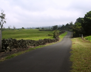 The Old Mamalahoa Highway Rolls Through The Rural South Coast of Hawaii: Photo by Donald B. MacGowan