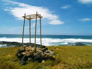 Kae Lae, the Southern Most Point in the US: Photo by Donnie MacGowan