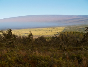 Sunrise on Mauna Loa from Jagger Museum: Photo by Donnie MacGowan
