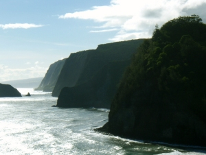 The Cliffs at Pololu: Photo by Donald B. MacGowan