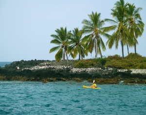 Superb Snorkeling Exists on the North Side of the Bay by the Rocks: Photo by Donald B. MacGowan
