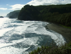A Sweeping View of Magnificent Pololu Valley: Photo by Donald B. MacGowan