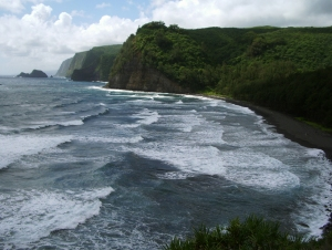 Majestic Pololu Valley on the Hamakua Coast of Hawaii: Photo by Donnie MacGowan
