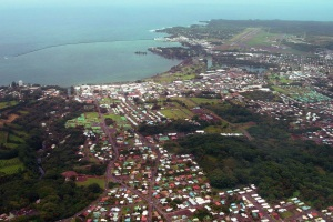 Hilo From the Air: Photo by Donnie MacGowan