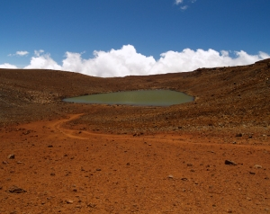 Lake Wai'au on Mauna Kea: Photo by Donnie MacGowan