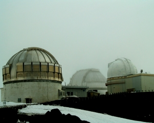 Mauna Kea Science Huddle: Photo by Donnie MacGowan