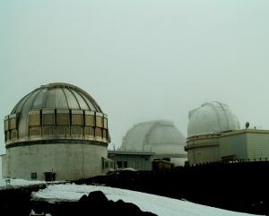 Mauna Kea Science Huddle: Photo by Donnie MacGowan