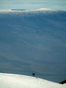 Mauna Kea Summit Hikers: Photo by Donnie MacGowan
