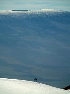Mauna Kea Summit Hikers: Photo by Donnie MacGowan