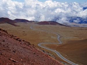 Mauna Kea Summit Road: Photo by Donnie MacGowan