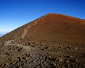 Mauna Kea Summit Trail: Photo by Donald MacGowan