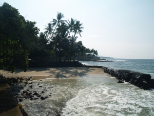 Niumalu Beach, Kailua Kona, Hawaii: Photo by Donnie MacGowan