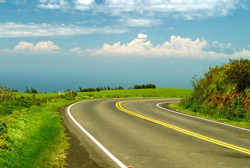 Hawaii Roads Big Island