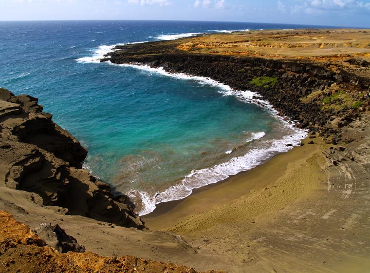 papakolea green sand beach | Lovingthebigisland's Weblog