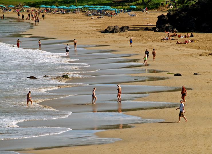 Hapuna Beach Early In The Morning, Kohala Coast, Hawaii: Photo By Donald B  MacGowan