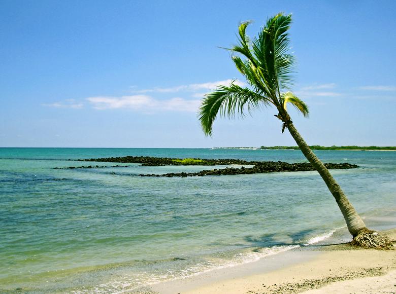 Koloko Beach On The Big Island Of Hawaii