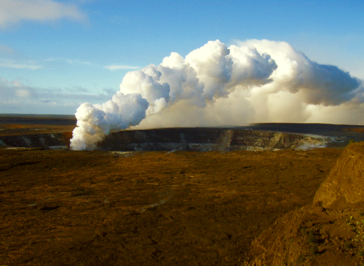 eruptions of kilauea. Kilauea Crater and Eruption of
